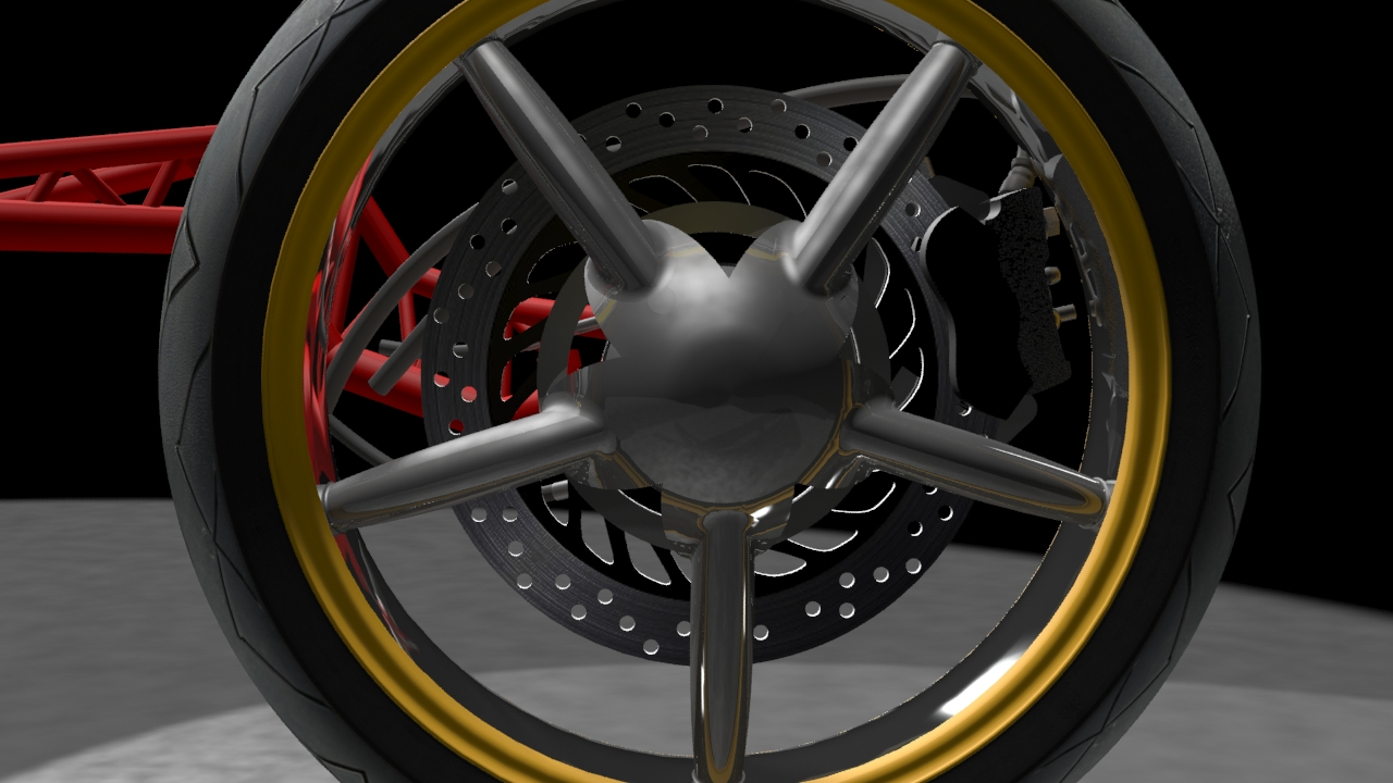 sem streamlined electric motorcycle center hub steering